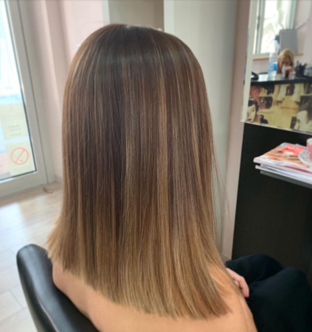 LookBook Hair Solutions Balayage / ombre + preliv - kosa srednje dužine