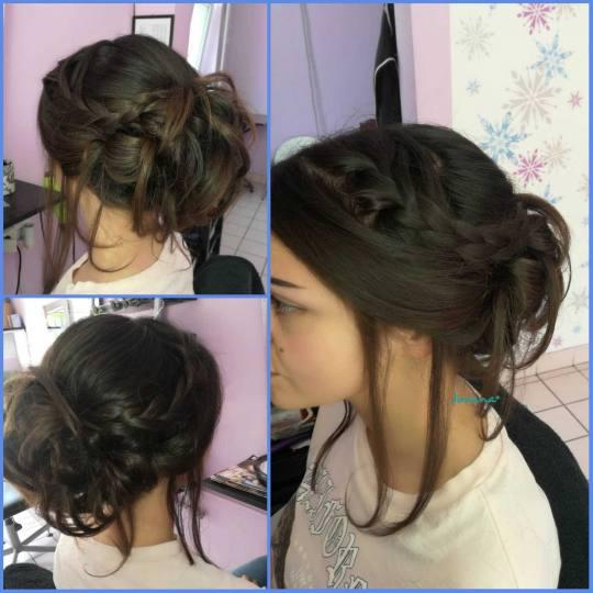 Jovana + #beograd Svečane i frizure za svadbu Svečana frizura - ekstra duga kosa