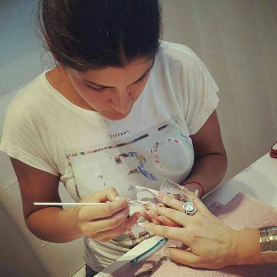 Studio Terazije #beograd Izlivanje noktiju Izlivanje noktiju + french