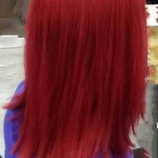 Sestro slatka #beograd Farbanje kose Farbanje cele dužine - kosa srednje dužine Klijent je želeo