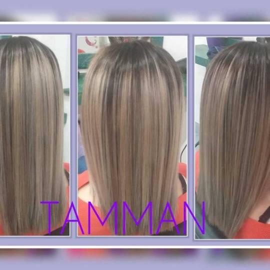 Salon lepote Tamman #beograd Pramenovi Balayage + preliv - duga kosa