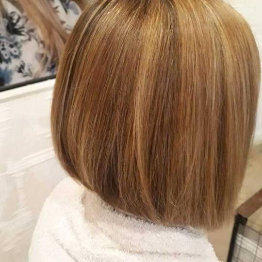 King & Queen #beograd Žensko šišanje Žensko šišanje - kosa srednje dužine