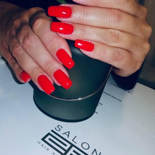 SALON 26 - Dorćol #beograd Ojačavanje noktiju Ojačavanje prirodnih noktiju + gel lak Ojacavanje n