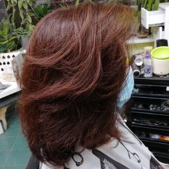 Candir #novisad Farbanje kose Farbanje cele dužine - duga kosa + feniranje
