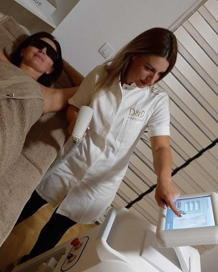 LookBook D&D Beauty Center Laserska epilacija pazuha - za dame