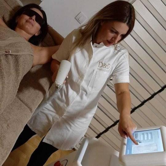D&D Beauty Center #beograd Laserska epilacija Laserska epilacija pazuha - za dame