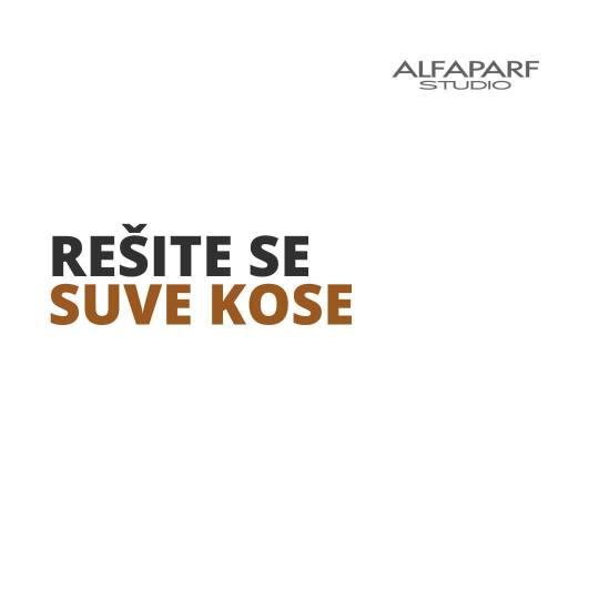Alfaparf Studio Ada Mall #beograd Nega i ojačavanje kose Cellula Madre tretman za negu - ekstra dug