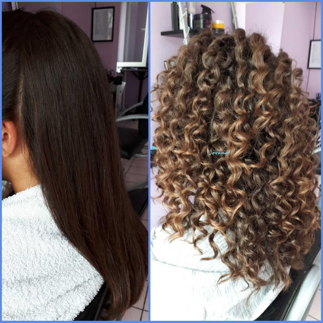 LookBook Jovana + Afro lokne - ekstra duga kosa