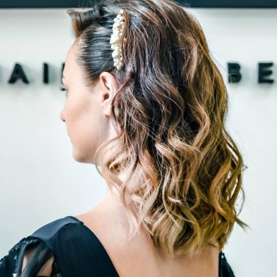 SALON 26 - Dorćol #beograd Svečane i frizure za svadbu Svečana frizura - jednostavna Svecana friz