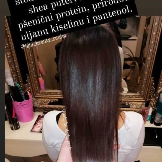 Bibi beauty centar #beograd Nega i ojačavanje kose Brazilski keratin - srednja duzina kose brazilsk