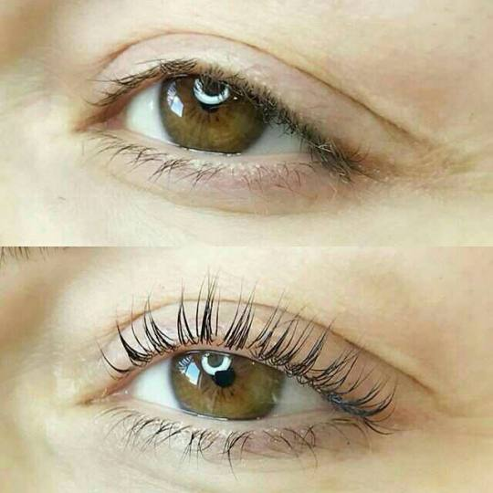 Right Beauty #beograd Trepavice Eyelash lifting - minival trepavica