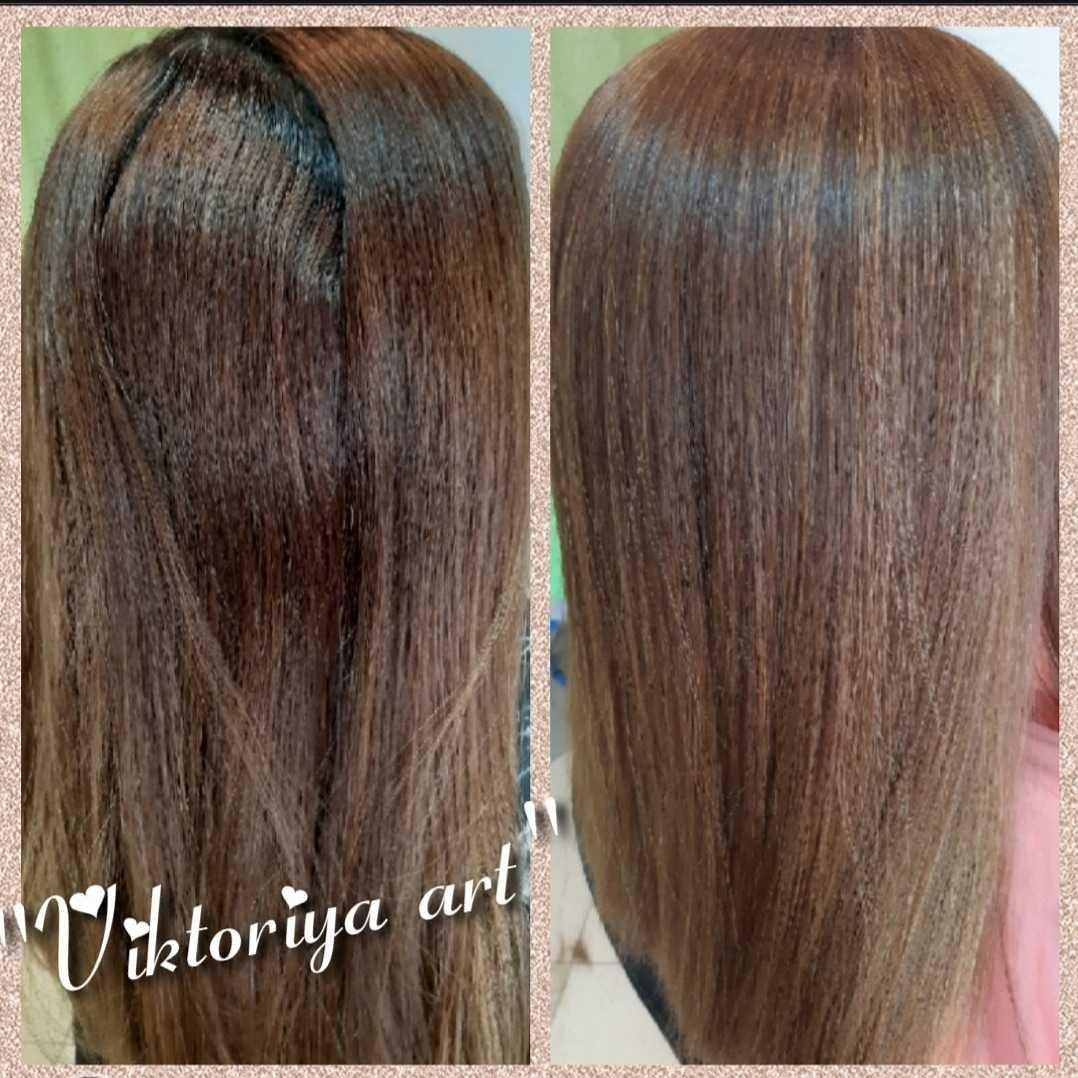 LookBook Victoriya Art Pramenovi na foliju 1 boja + preliv - duga kosa