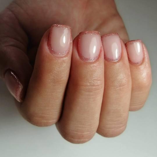 Nail office - TC BIG Rakovica #beograd Korekcija noktiju Korekcija noktiju gelom + french