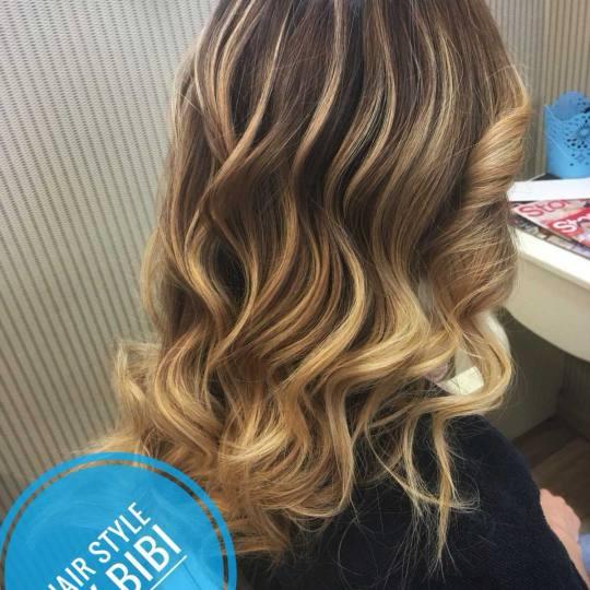 Bibi beauty centar #beograd Pramenovi Pramenovi na foliju - srednja kosa Sunce u kosi za letnje dane