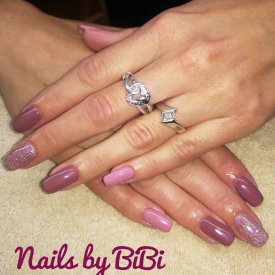 Bibi beauty centar #beograd Izlivanje noktiju Izlivanje noktiju gelom - kratki nokti nove jesenje ni