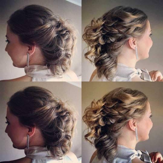 OPI - ALOXXI Banovo brdo #beograd Svečane i frizure za svadbu Svečana frizura - kosa srednje duži