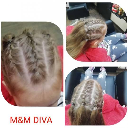 M&M Diva #beograd Pletenice, kike, punđe Sitne pletenice