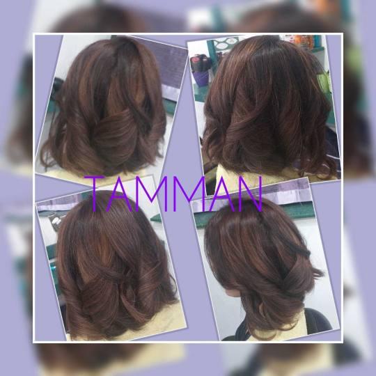 Tamman #beograd Feniranje i stilizovanje Feniranje na ravno / lokne - kosa srednje dužine