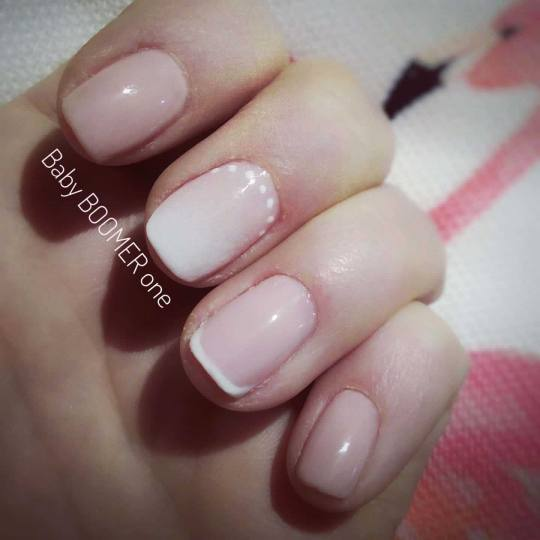 Headroom #beograd Manikir Manikir + gel lak - french / baby boomer 💅 Marija
