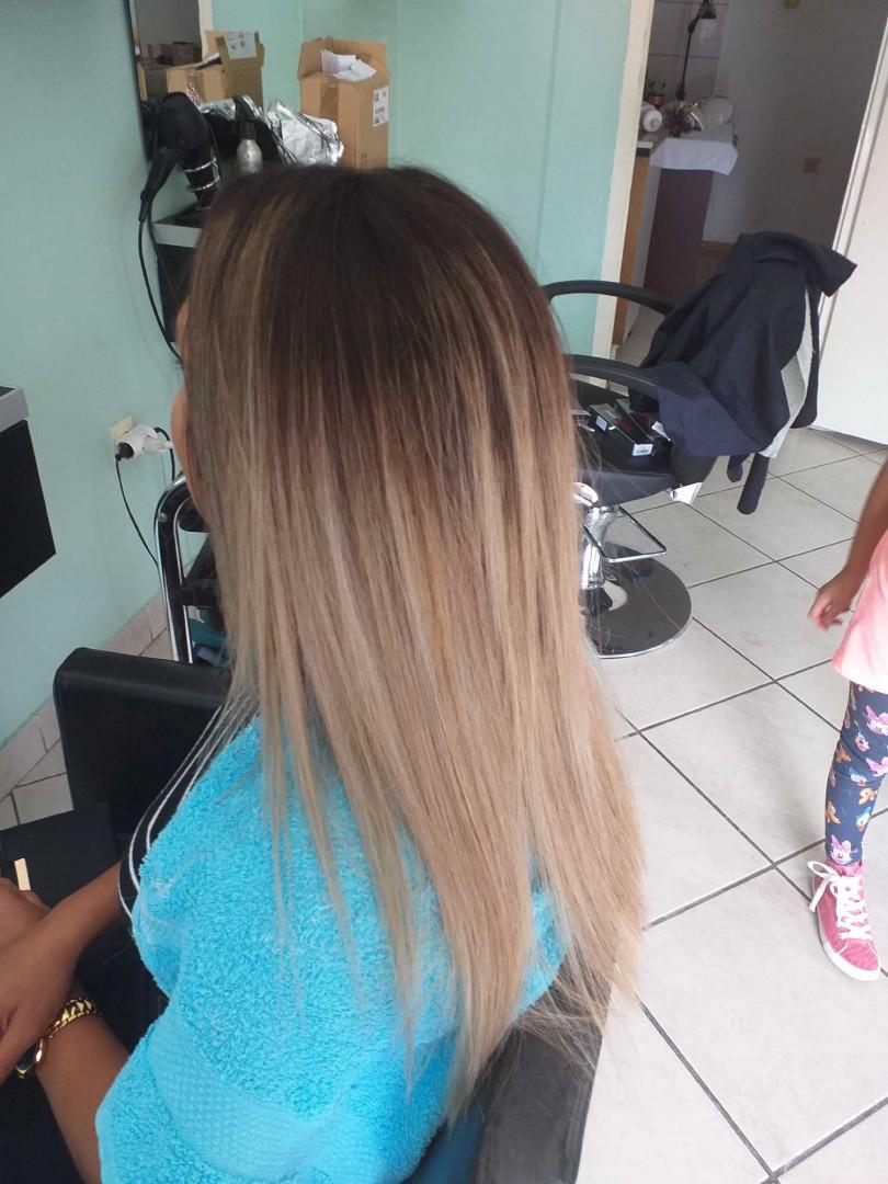 LookBook Bella Donna Sombre + preliv + oblikovanje - duga kosa
