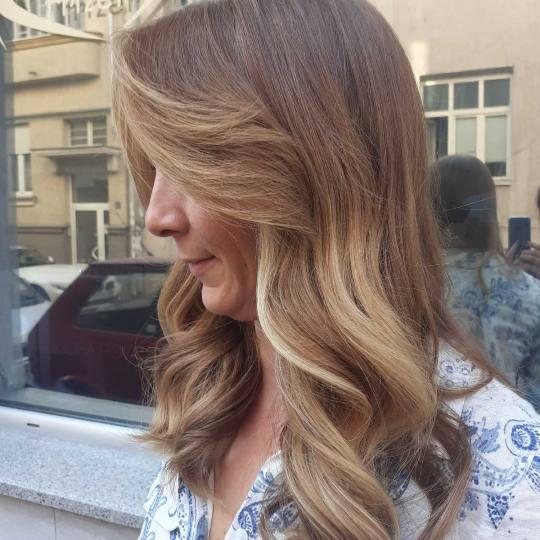 La capelli hair #beograd Ombre, sombre, balayage Balayage - duga kosa