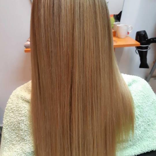 Victoriya Art #beograd Keratinski tretmani Ispravljanje kose keratinom Cadiveu - duga kosa