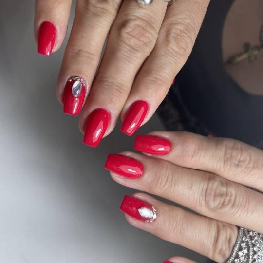 Mademoiselle Beauty #beograd Ojačavanje noktiju Ojačavanje noktiju gelom - M dužina - rad salona