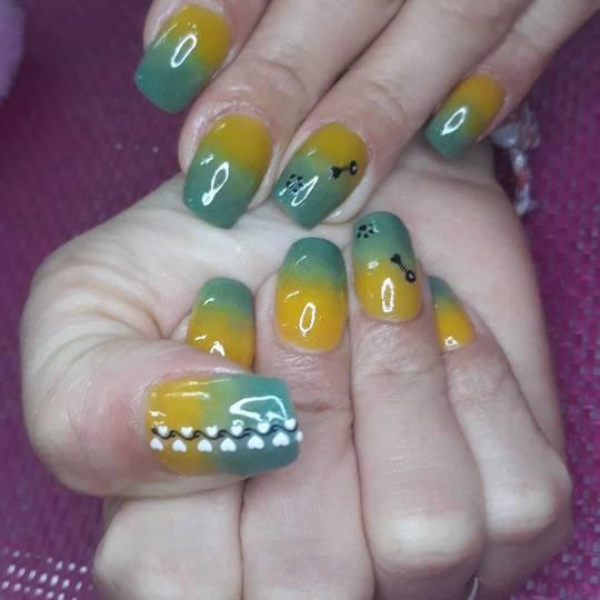 Estetic beauty centar Amica #beograd Ojačavanje noktiju Dipping powder ojačavanje prirodnih noktij