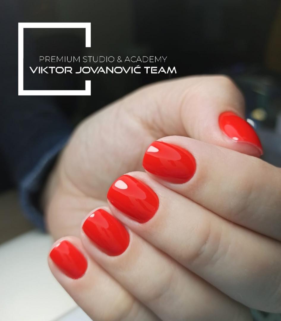 LookBook Viktor Jovanović TEAM Ojačavanje prirodnih noktiju gel / akril