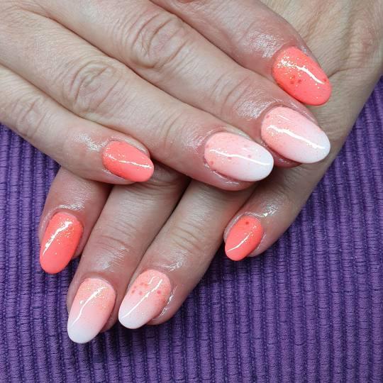 Anami #beograd Korekcija noktiju Korekcija izlivanja - nokti srednje dužine