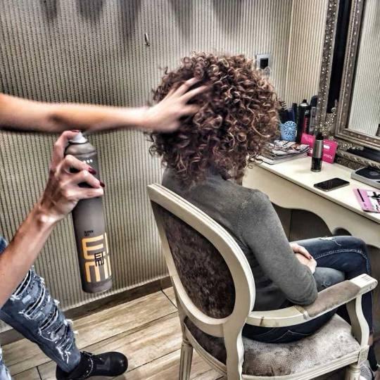 Bibi beauty centar #beograd Feniranje i stilizovanje Feniranje na ravno / lokne - ekstra duga kosa a