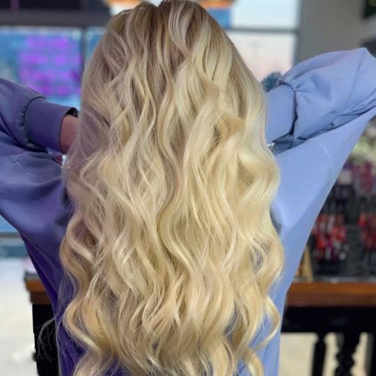 Golden Beauty Shop #beograd Farbanje kose Farbanje cele dužine - duga kosa