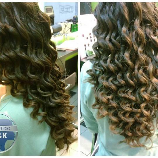 P&K #beograd Uvijanje, lokne i talasi Uvijanje kose kupom - ekstra duga kosa