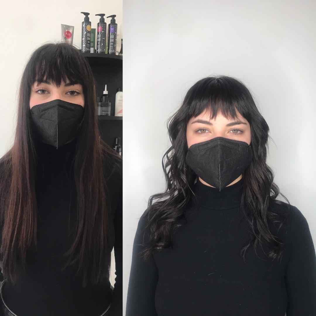 LookBook Cut 'n' Go Žensko šišanje + feniranje - duga kosa