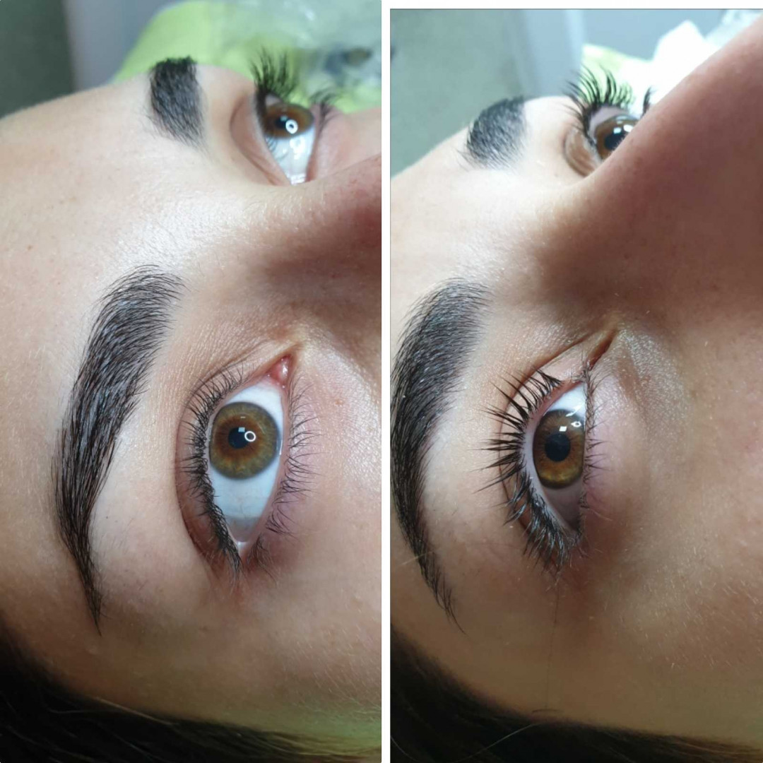 LookBook Tina B Lash lift + botox trepavica