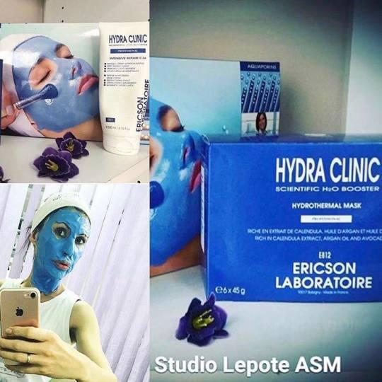 Studio lepote ASM #beograd Dermaroler i dermapen Dermapen tretman lica + Hydra Clinic Ericson Labora