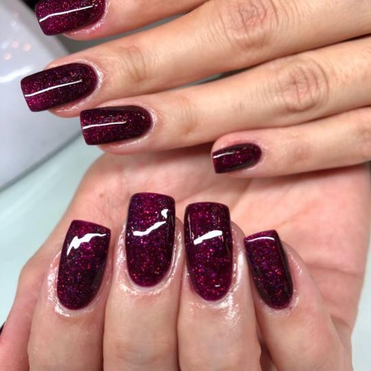 Baroque #beograd Nadogradnja noktiju Nadogradnja noktiju tipsama - kratki nokti