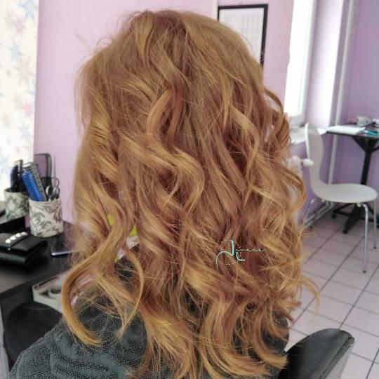 Jovana + #beograd Feniranje i stilizovanje Feniranje na ravno / lokne - duga kosa