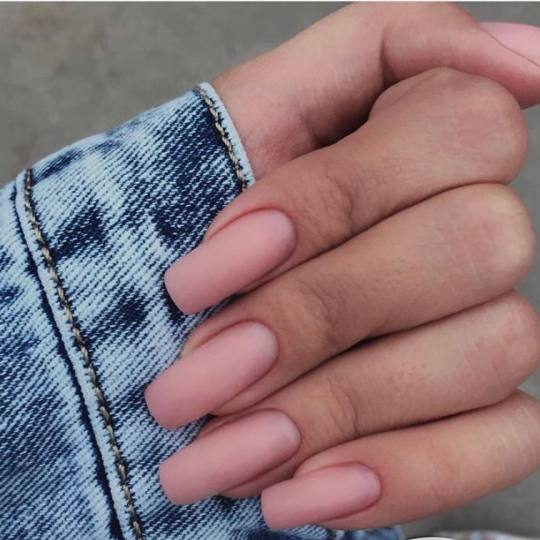 Monami beauty #beograd Ojačavanje noktiju Korekcija ojačavanja noktiju L - dužina