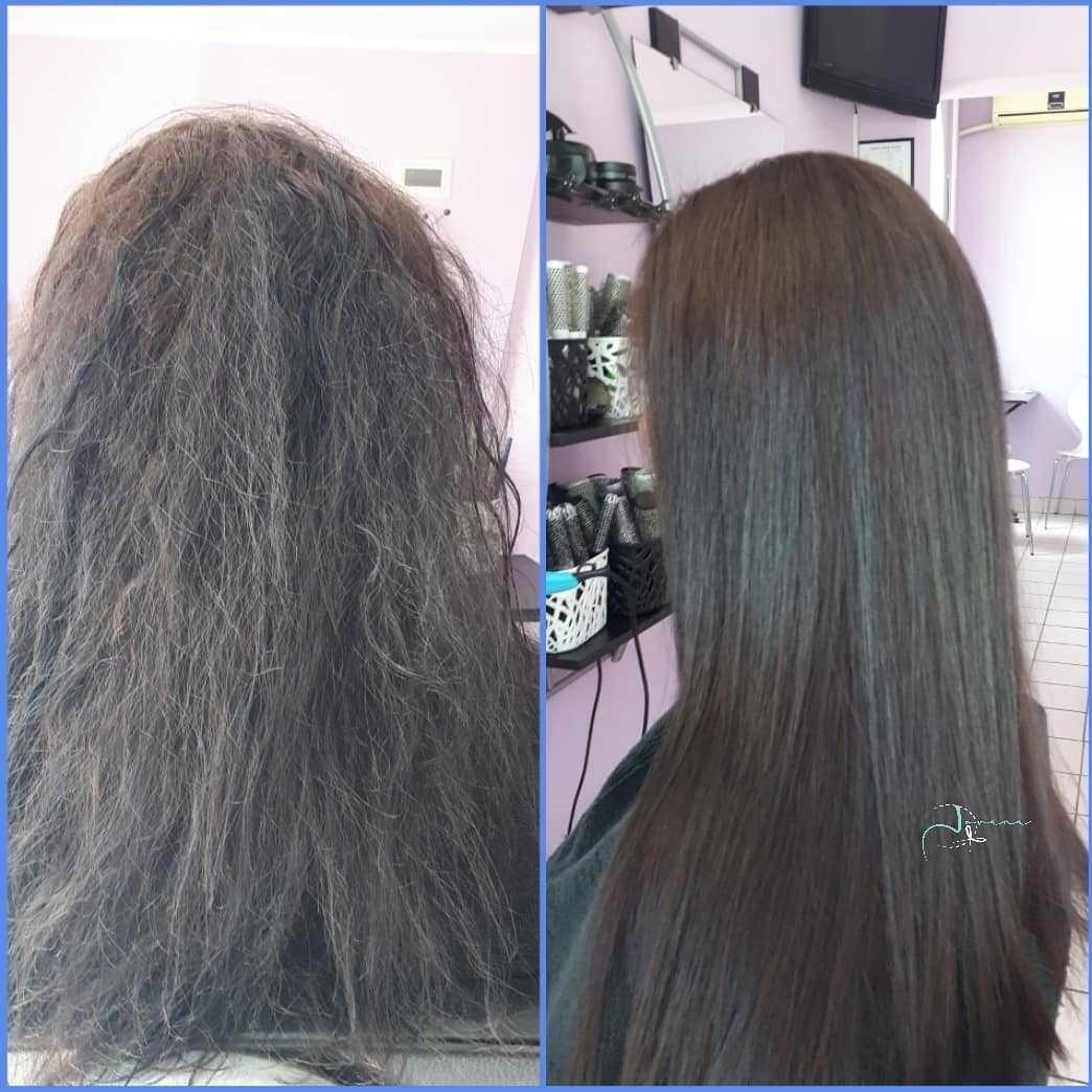 LookBook Jovana + Ispravljanje kose keratinom - ekstra duga kosa