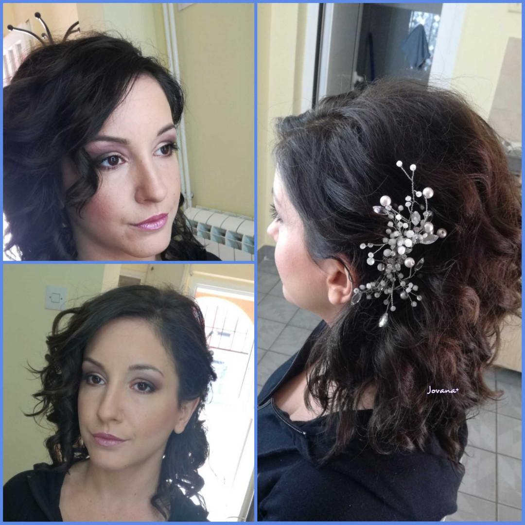 LookBook Jovana + Profesionalno šminkanje - za mladu