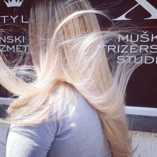 X Style #novisad Ombre, sombre, balayage Balayage + preliv  - ekstra duga / duga i gusta kosa