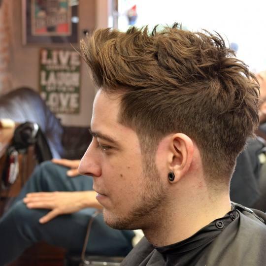 OldBoy Barbershop #beograd Muško šišanje Muško šišanje + korekcija brade