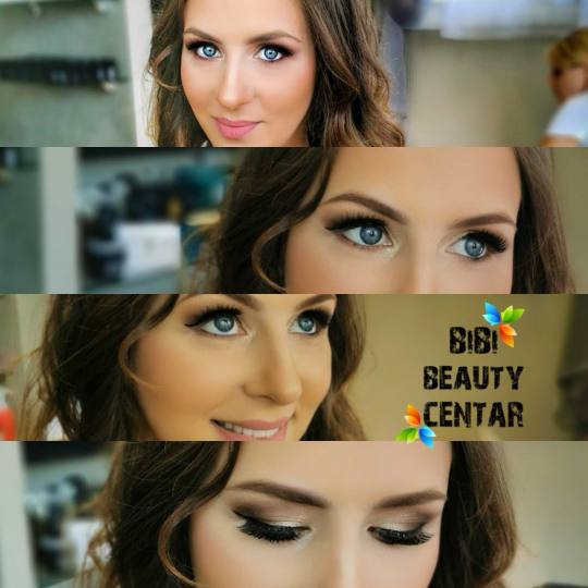 Bibi beauty centar #beograd Make-up / šminkanje Profesionalno šminkanje + proba - za venčanje mak