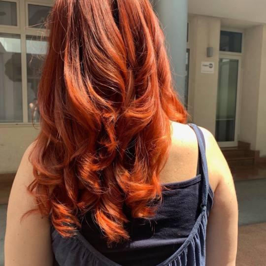 Hair Solutions #beograd Ombre, sombre, balayage Balayage / ombre + preliv - duga kosa