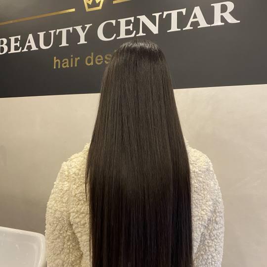 Beauty Centar #beograd Nega i ojačavanje kose Botox kose + feniranje na ravno / lokne - sve dužine
