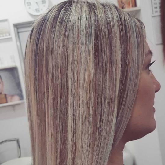 Aki shine #krusevac Farbanje kose Nijansiranje - duga kosa Nijansiranje kose...slika govori vise od