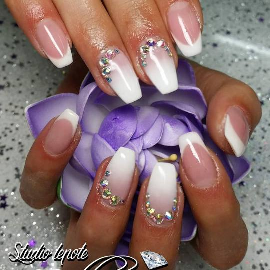 Bellezza #zitoradja Nadogradnja noktiju Nadogradnja noktiju tipsama + french/ombre
