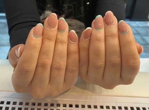 LookBook Alfaparf Nails Manikir + gel lak