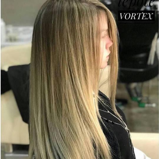 Vortex #beograd Pramenovi Pramenovi na foliju / blanš - duga kosa pramenovi